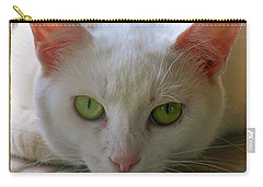 Carry-all Pouch featuring the photograph You Lookin At Me by Sherman Perry