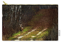 Young Buck And Autumn Carry-all Pouch
