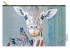 Young Giraffes Carry-all Pouch