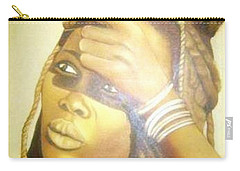 Young Himba Girl - Original Artwork Carry-all Pouch