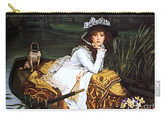 Young Lady In A Boat Carry-all Pouch