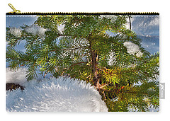 Young Winter Pine Carry-all Pouch