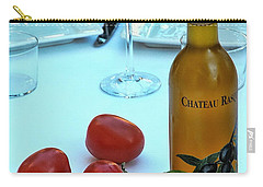 Carry-all Pouch featuring the photograph Your Table Is Ready by Allen Beatty