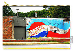 You've Got A Life To Live Pepsi Cola Wall Mural Carry-all Pouch