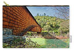 Carry-all Pouch featuring the photograph Yuba State Park by Jim Thompson