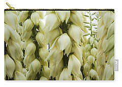 Carry-all Pouch featuring the photograph Yucca Forest by Steven Milner