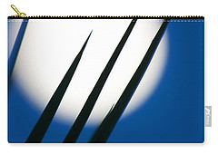 Carry-all Pouch featuring the photograph Yucca Moon by Jim Garrison