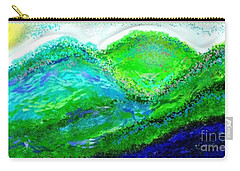 Van Gogh Sunrise Carry-all Pouch by The Art of Alice Terrill