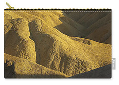 Carry-all Pouch featuring the photograph Zabriski Point #4 by Stuart Litoff