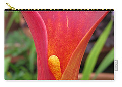 Zantedeschia Named Red Sox Carry-all Pouch by J McCombie