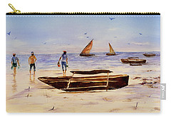 Zanzibar Forzani Beach Carry-all Pouch by Sher Nasser