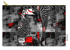 Zebra Art - 56a Carry-all Pouch