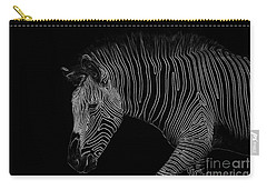 Zebra Art Carry-all Pouch