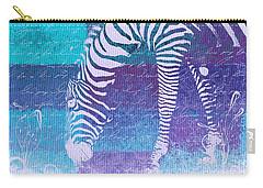 Zebra Art - Bp02t01 Carry-all Pouch