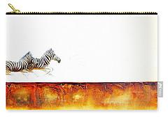 Zebra Crossing - Original Artwork Carry-all Pouch