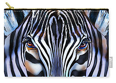 Zebra Dreams Carry-all Pouch