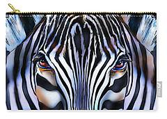 Zebra Dreams Carry-all Pouch