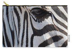 Zebra Eye Abstract Carry-all Pouch
