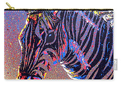 Zebra Fantasy Carry-all Pouch