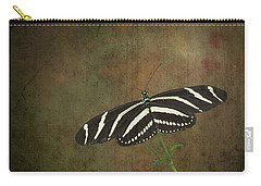 Zebra Longwing  Butterfly-1 Carry-all Pouch