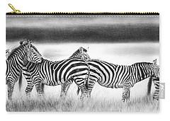 Zebra Panarama Carry-all Pouch