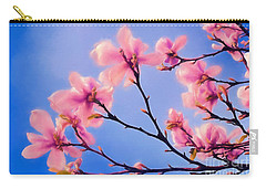 Cherry Blossums In Digital Watercolor Carry-all Pouch
