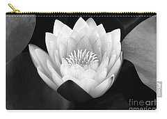 Carry-all Pouch featuring the photograph Waterlily Rising  by John F Tsumas
