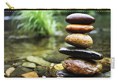 Zen Stones Carry-all Pouch