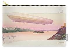 Zeppelin, Published Paris, 1914 Carry-all Pouch