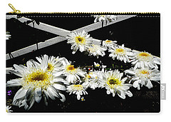 Zig Zag Daisies Carry-all Pouch