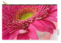Gerbera Daisy Abstract Carry-all Pouch