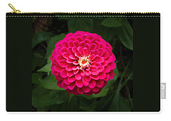 Zinnia In Bloom Square Carry-all Pouch