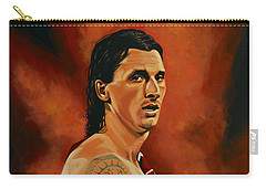 Zlatan Ibrahimovic Painting Carry-all Pouch