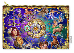 Zodiac 2 Carry-all Pouch by Ciro Marchetti