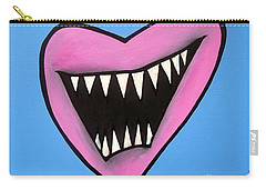 Zombie Heart Carry-all Pouch by Thomas Valentine