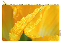 Zucchini Flowers In May Carry-all Pouch by Kume Bryant