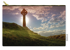 Celtic Cross Carry-all Pouch by Beverly Cash