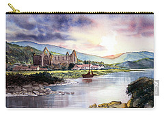 Late Evening At Tintern Abbey Carry-all Pouch