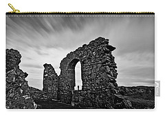 Llanddwyn Island Ruins Carry-all Pouch by Beverly Cash