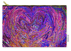 Love From The Ripple Of Thought  V 6  Carry-all Pouch