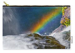 Rainbow By The Waterfall Carry-all Pouch