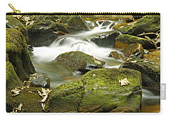 Water Flow At Torc  Carry-all Pouch by Martina Fagan
