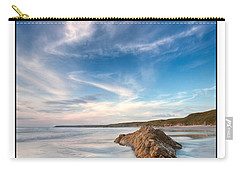 Welsh Coast - Porth Colmon Carry-all Pouch by Beverly Cash