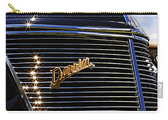 Carry-all Pouch featuring the photograph 1937 Ford Model 78 Cabriolet Convertible By Darrin by Gordon Dean II
