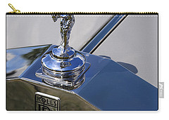 Carry-all Pouch featuring the photograph 1965 Rolls Royce Silver Cloud IIi Mpw Coupe by Gordon Dean II