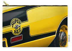 Carry-all Pouch featuring the photograph 1970 Dodge Coronet Super Bee by Gordon Dean II