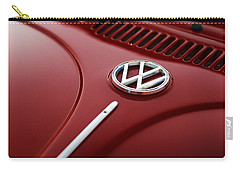 Carry-all Pouch featuring the photograph 1973 Volkswagen Beetle by Gordon Dean II