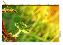 Carry-all Pouch featuring the photograph A New Morning by Debbie Portwood