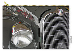 Carry-all Pouch featuring the photograph Alfa Romeo by Anna Ruzsan