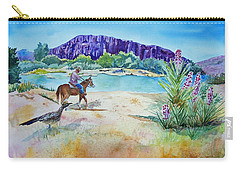 Texas - Along The Rio-grande Carry-all Pouch